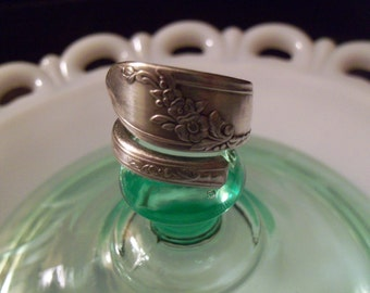 Spoon Ring-- Size 10.5
