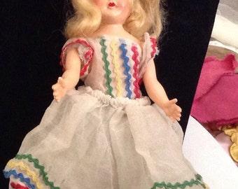 Vintage Storybook Style Doll
