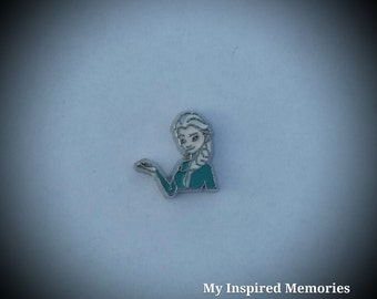 1-Frozen Elsa floating charm