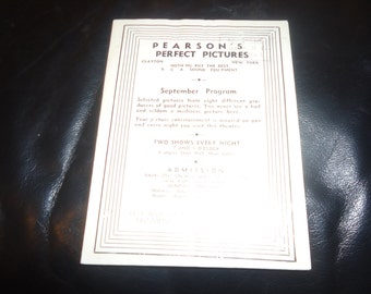 RARE Original 1934 New York Movie Theater Pressbook Stamboul Quest Born To Be Bad Myrna Loy Lady For A Day, Spencer Tracy, Will Rogers