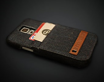 mineD HOLD EM - denim case for samsung galaxy S5