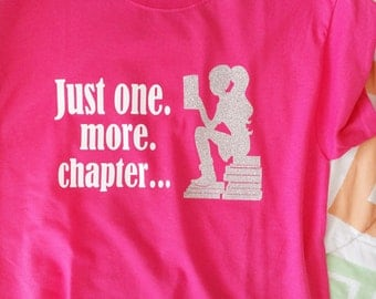 "TShirt - ""One more chapter"""