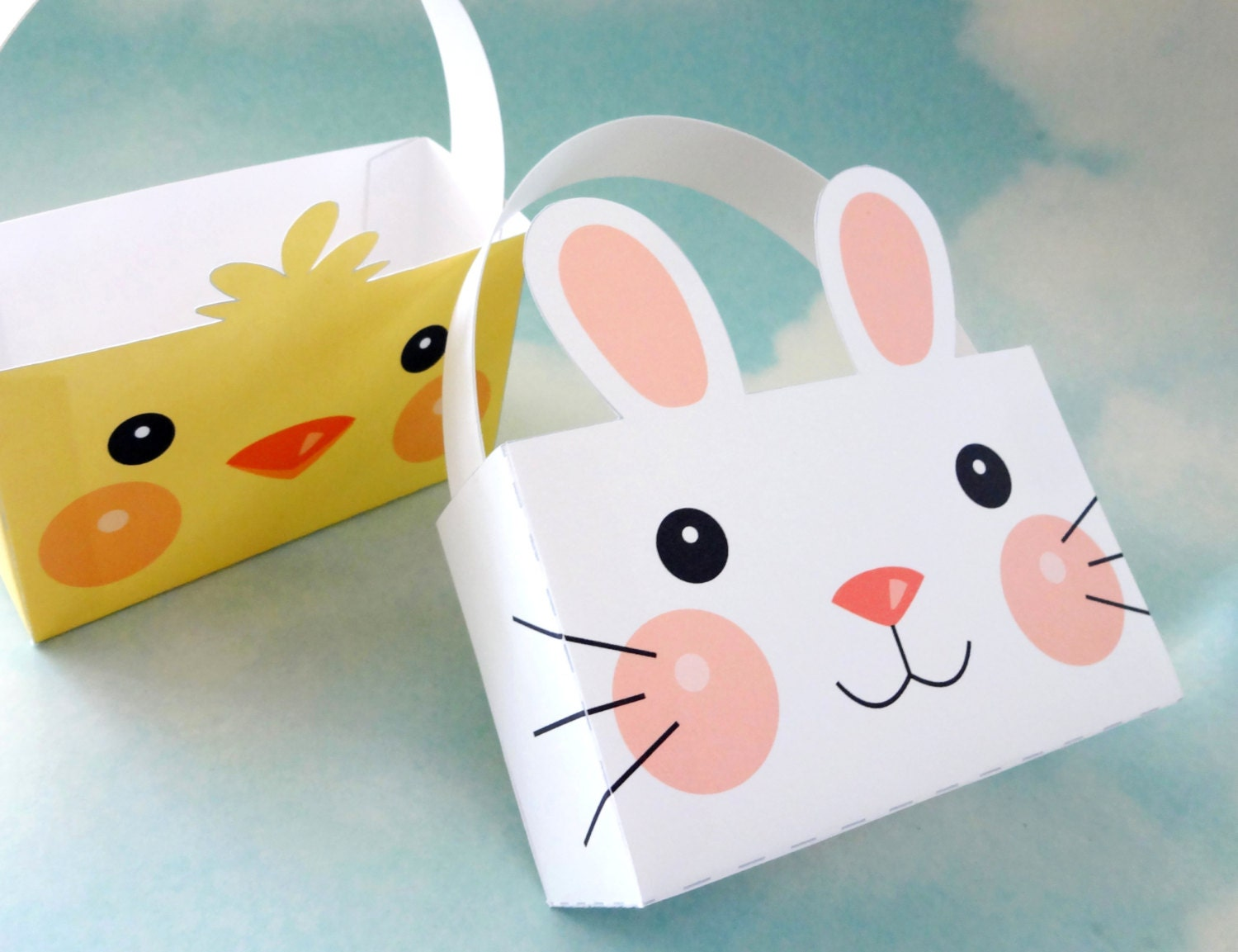 Easter bunny box template merry christmas and happy new year 2018 easter bunny box template negle Gallery