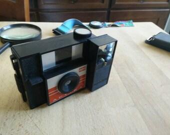 1954 rare Indo Aptica MADE IN FRANCE camera with original flash light