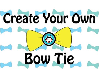 Custom Dog Bow Tie, Dog Bow, Dog Bow Tie, Bow Tie, Pet Accessories