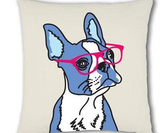 Boston Terrier Cushion Cover (C727)