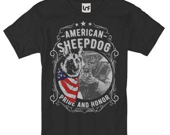 American Sheepdog Men's T-Shirt (SB818)