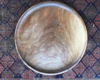 Black Walnut Wooden Platter