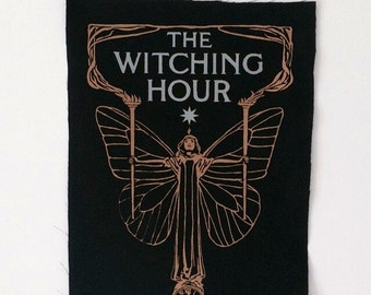 The Witching Hour 2 inks back patch