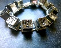 Pay Phone number bracelet!