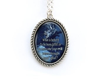 Necklace Paarthurnax Quote The Elder Scrolls Skyrim Dragon