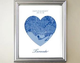 Toronto Heart Map