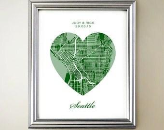 Seattle Heart Map