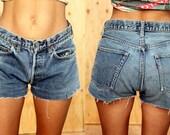 Vintage Redline levi's 501 denim shorts size 27