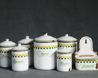 kitchen canister set French