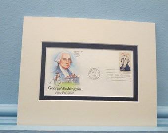 President George Washington and the First day Cover of his own stamp