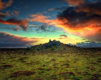 Icelandic Volcano Memorial