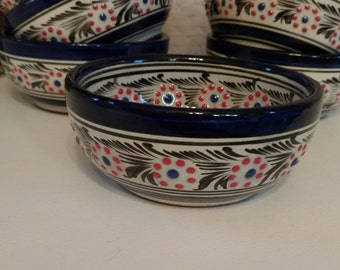 Hand Painted Glass Bowls from Mexico