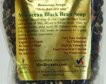 Organic Bean Soups - Vegan Gluten Free Healthy No Salt Added, SoyFree Nutritious Ethnic Dry Soup Mixes