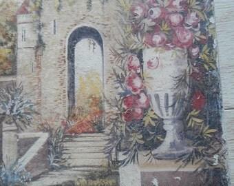 Vintage Italian Landscape Painting!