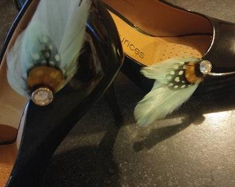 Goose Feather Shoe Clip