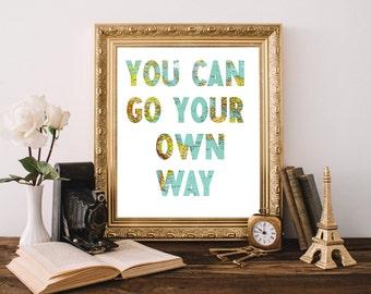 Fleetwood Mac Go Your Own Way Lyrics Rumours Stevie Nicks Song 8x10 Poster Print