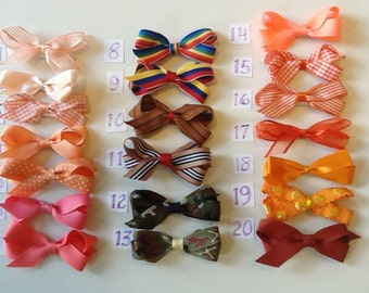 Play-Time Small Orange Bows