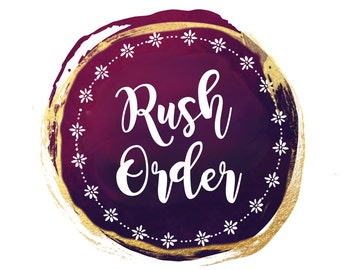 Rush Order Listing Fee For Any Item