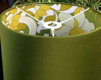 Green Vintage Fabric 'Pattern Pop' Shade