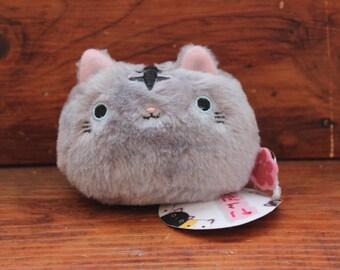 Little Cat Plush Grey Coloured 6x8x6cm Kawaii Kitty