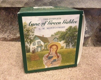 The Complete Anne Of Green Gables Box Set 1-8 Books L.M. Montgomery