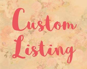 Custon Listing for alexsanchez03051