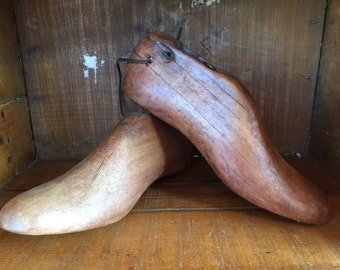 ON SALE!   Wooden Shoe Forms