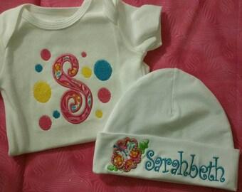 Baby girl 2 piece gift set