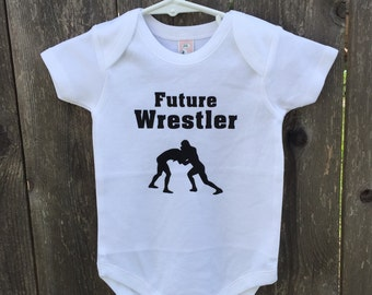 Future Wrestler  With name on back !
