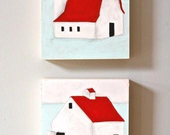 Barn Paintings Duo