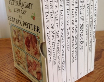 The Peter Rabbit Library by Beatrix Potter