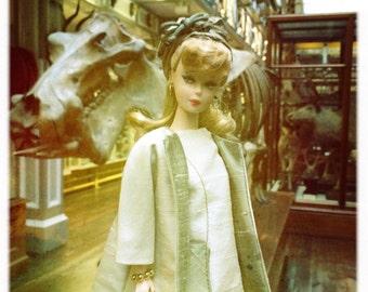Barbie Dress, Barbie Coat, Barbie Hat, Barbie Doll Clothes, Barbie Clothes Handmade, Barbie Dresses