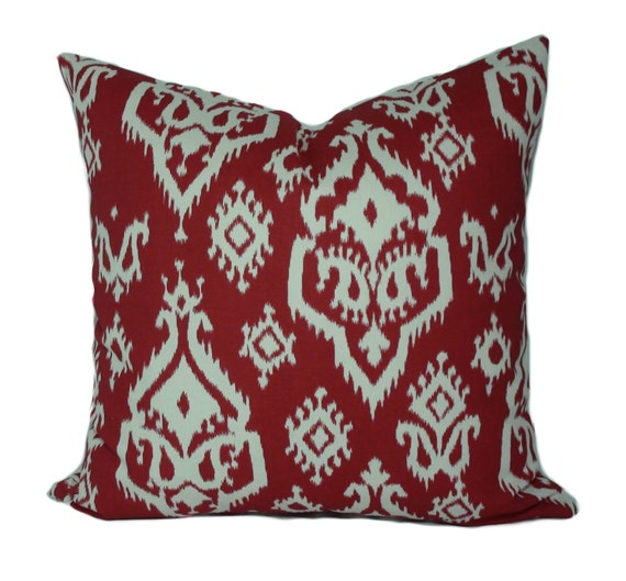 Decorative Valentine Pillows : Red pillow covers 20x20 Valentine pillow Valentine s