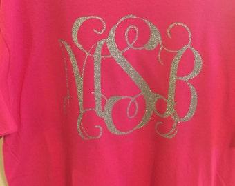 Large Monogram Initial Shirt