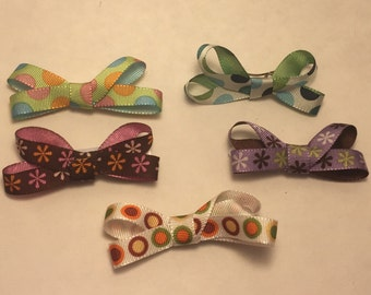 Little Bow Hair Clippies