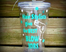 Hair Stylist, Hair Stylist Gift, Hair Stylist Cup, Cosmetology, Cosmetology Gifts, Cosmetology Cup, Personalized Hair Stylist Gift, Cup