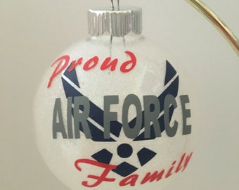 Military Themed Christmas Ornament