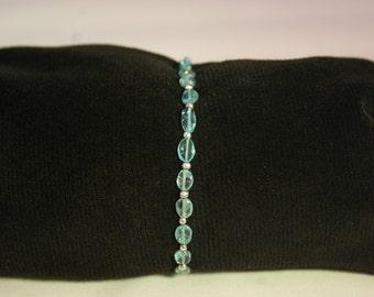 Aquamarine Bracelet # 733