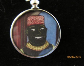 Arabian Nights Pendant with Original Artwork