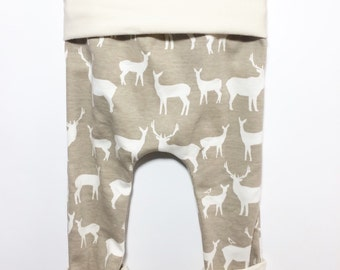 Organic Grow With Me Pants, Cloth Diaper Pants, Cute Baby Clothes, Hip Baby Pants