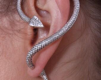 House of Slytherin   Snake Ear Cuff/Climber