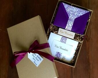 Stationary, Cards, Envelopes, lined envelopes, embossed cards, stationary gift set, custom stationary, Mother's Day Gift, Gift for Mom