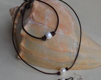 "Shop ""leather earrings"" in Jewelry Sets"