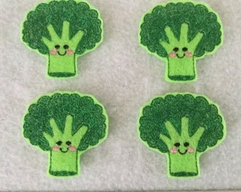Broccoli Feltie, Vegetable Feltie    Always Precut